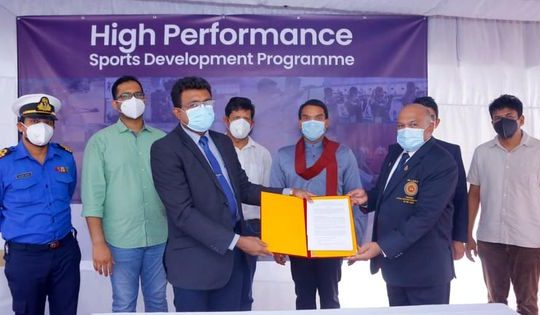 MINISTRY OF YOUTH AND SPORTS SIGN AGREEMENT WITH SL SHOOTING FEDERATION…