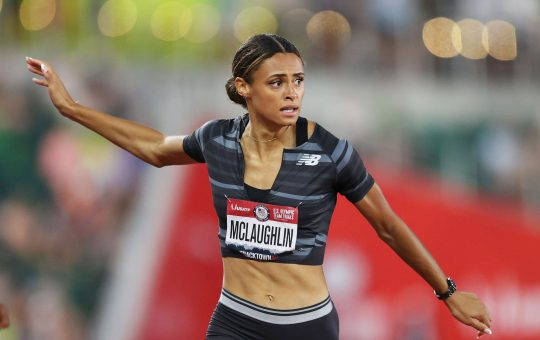 MCLAUGHLIN SMASHES WORLD 400M HURDLES RECORD IN EUGENE WITH 51.90