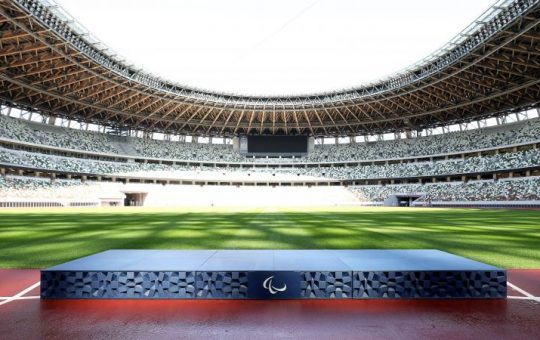 50 DAYS TO GO: PODIUMS, THEME MUSIC AND OTHER KEY ITEMS UNVEILED IN TOKYO 2020 CEREMONY