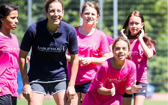GIRLS ARE CATCHING UP ON THE PLAYING FIELD, REVEALS LAUREUS SPORT FOR GOOD REVIEW…