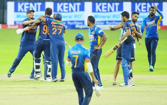 SRI LANKA FINED FOR SLOW OVER-RATE IN SECOND ODI AGAINST INDIA…