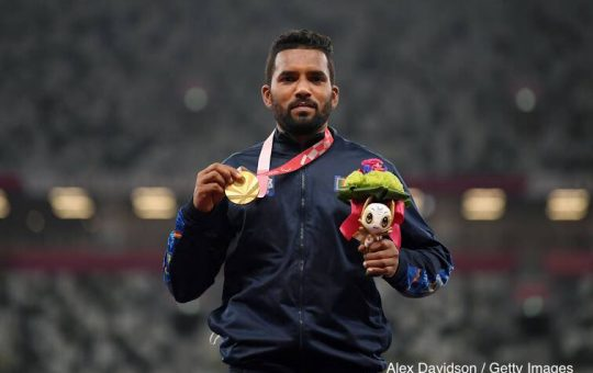SLC TO REWARD AND RECOGNIZE PARALYMPIC GOLD MEDALIST DINESH AND BRONZE MEDALIST SAMITHA…!